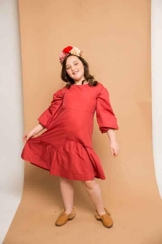 שמלת פופלין חמרא
