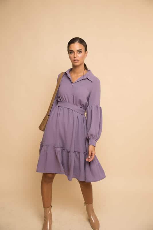 שמלת קומות כיווץ - לילך
