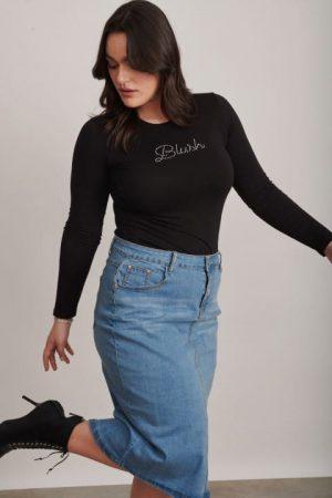 חצאית גינס קלאסית 1002 018 (Small)