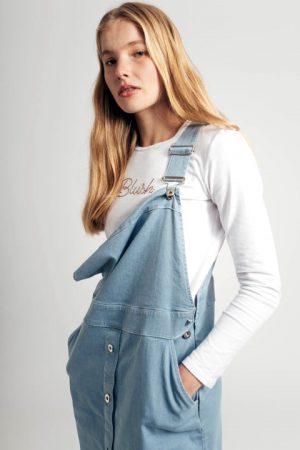 סרבל ג'ינס - בהיר 012