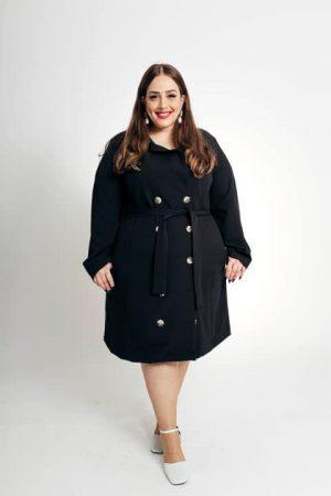 שמלת דאבל - שחור 001