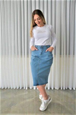 חצאית ג'ינס קלאסית